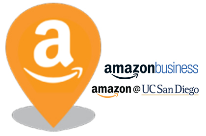 amazon at uc san diego logos