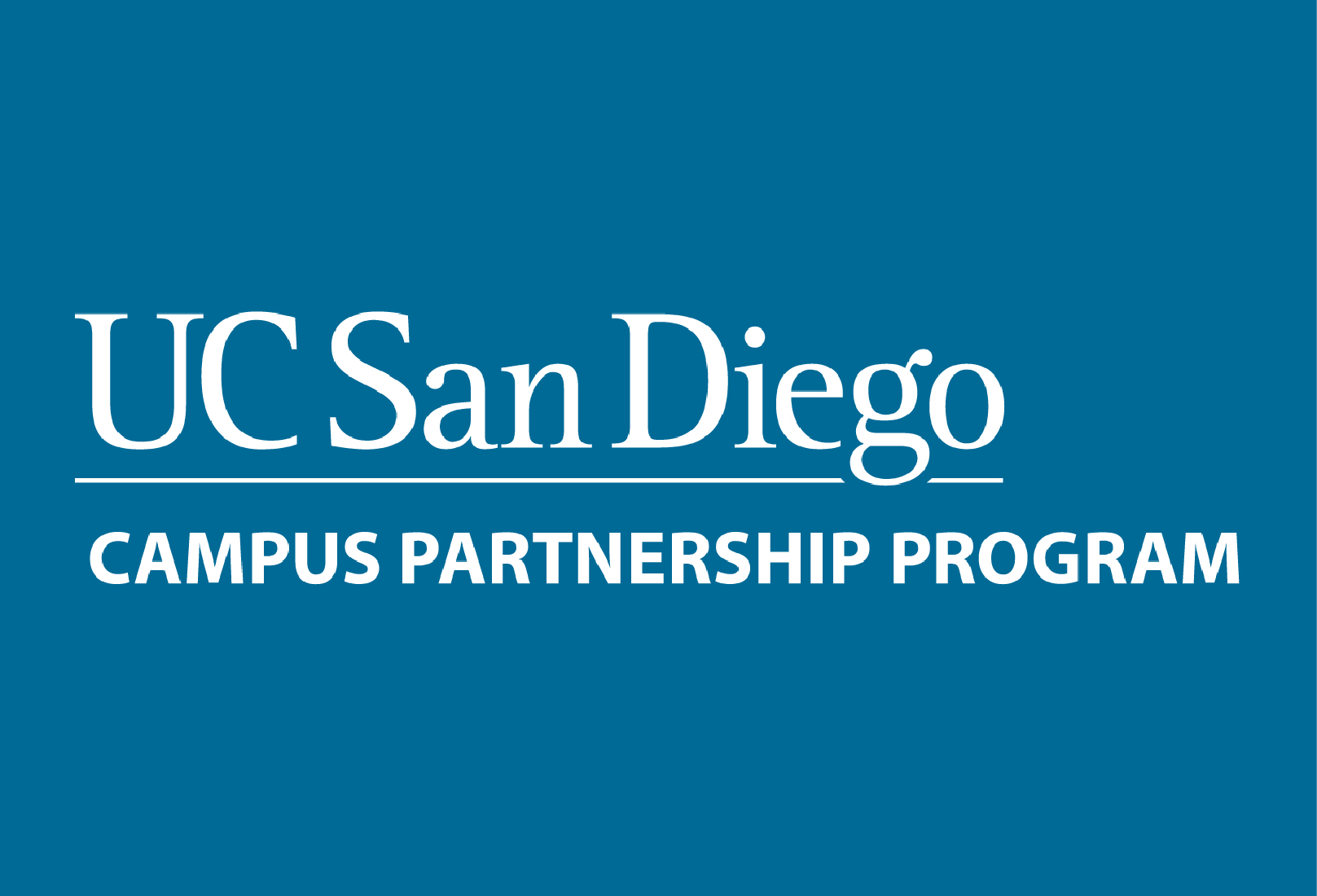 uc san diego campus partnership program logo